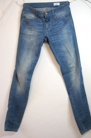 Closed Stretch Jeans cornflower blue mixture fibre