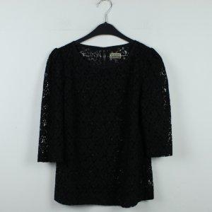 CLOSED Bluse Gr. S schwarz gemustert (20/01/049)