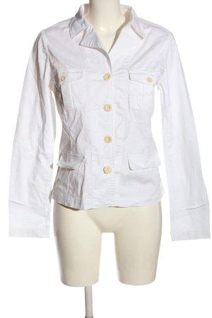 Closed Marynarka koszulowa biały W stylu biznesowym