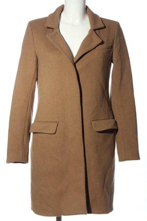 Closed Cappotto lungo fino a terra marrone stile professionale