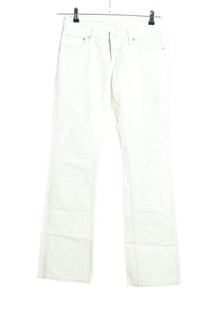 Closed Jeans bootcut blanc style décontracté