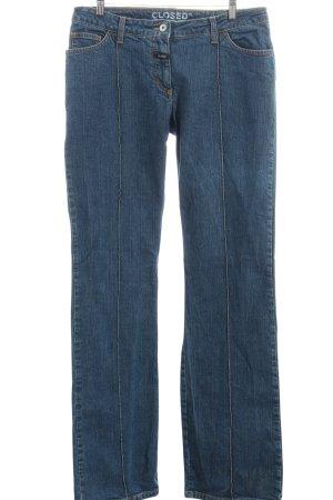 Closed Boot Cut Jeans blau Casual-Look