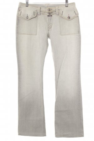 Closed Boot Cut Jeans light grey casual look