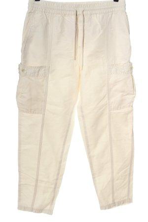 Closed Pantalon boyfriend crème style décontracté