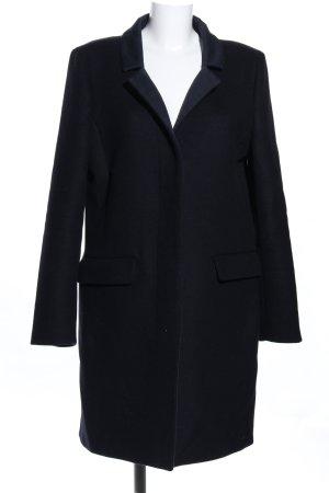 Closed Heavy Pea Coat black business style