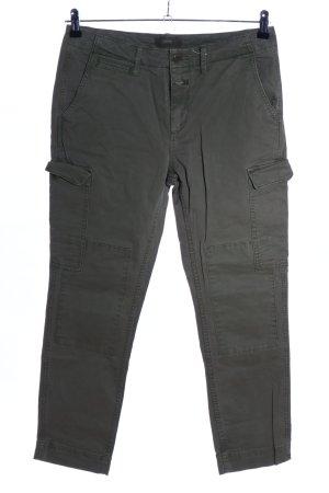 Closed Pantalon cargo gris clair style décontracté