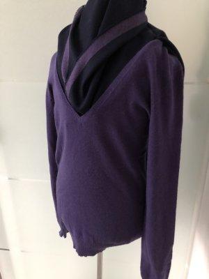 CLOSED Cashmere Pullover , Dunkelviolett, Größe M