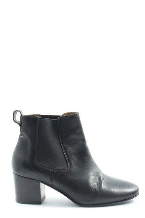 Closed Chelsea laarzen zwart casual uitstraling