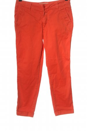 Closed Chinohose rot Casual-Look