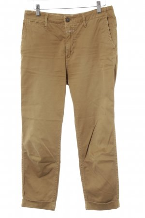 Closed Chinohose camel Casual-Look