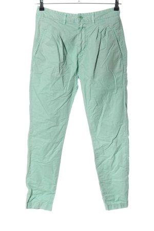 Closed Pantalon chinos turquoise style décontracté