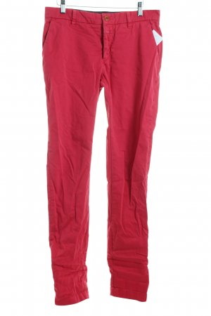 Closed Chinohose ziegelrot Casual-Look