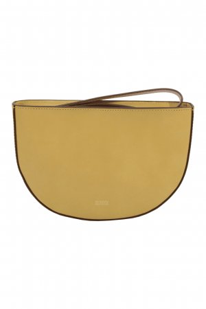 Closed Clutch in Beige