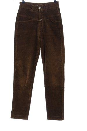 Closed Pantalón de pana marrón look casual
