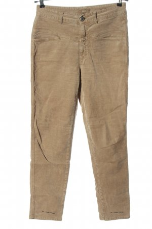 Closed Cordhose wollweiß Casual-Look