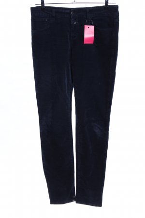 Closed Corduroy Trousers blue casual look