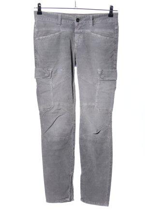 Closed Pantalón de pana gris claro look casual