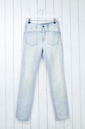 CLOSED Damen Jeans Slim Boyfriend Hellblau Baumwolle Polyester Gr.27