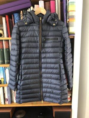 Closed Manteau en duvet bleu foncé
