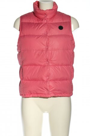Closed Daunenweste pink Steppmuster Casual-Look