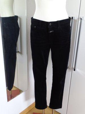 Closed Corduroy Trousers black cotton