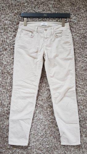 Closed Pantalón de pana blanco puro