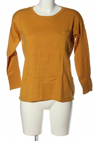 Closed Cienki sweter z dzianiny jasny pomarańczowy W stylu casual