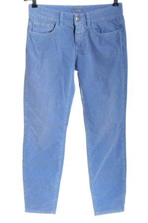 Closed Spodnie z pięcioma kieszeniami niebieski W stylu casual