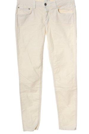 Closed Pantalón de cinco bolsillos crema look casual
