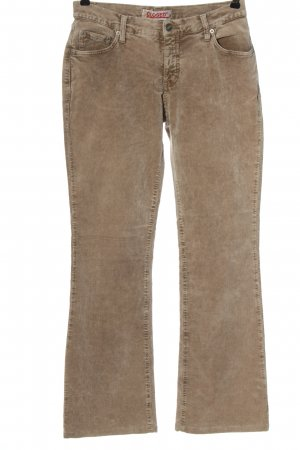 Closed Five-Pocket-Hose braun Casual-Look