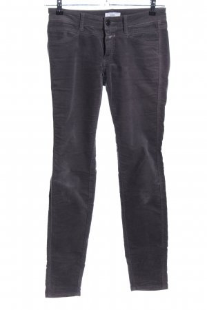 Closed Five-Pocket-Hose schwarz Casual-Look