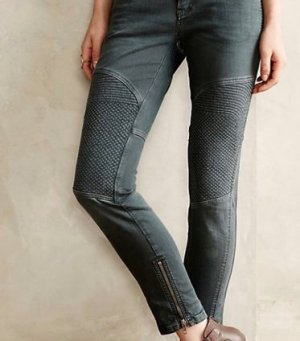 Closed Five-Pocket Trousers grey-green grey
