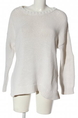 Closed Jersey de ganchillo blanco look casual