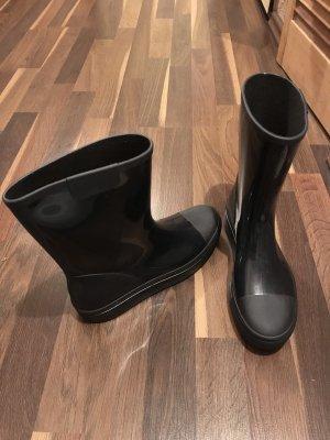 Closed Wellington laarzen zwart