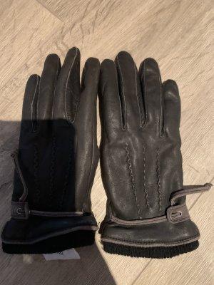 Closed Leren handschoenen bruin