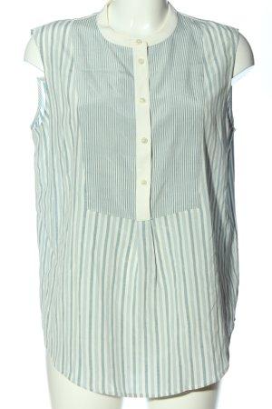 Closed Hemd-Bluse blau-wollweiß Streifenmuster Business-Look