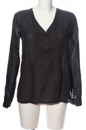 Closed Hemd-Bluse schwarz Casual-Look