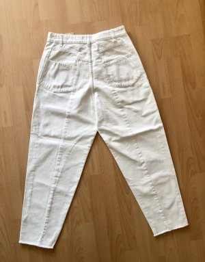 Closed Jeans baggy blanc coton