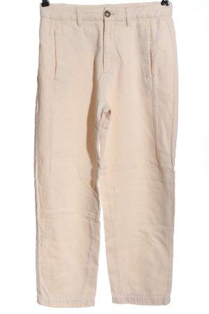 Closed Spodnie z wysokim stanem kremowy W stylu casual