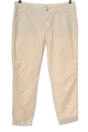 Closed High Waist Trousers cream casual look