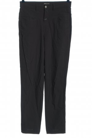 Closed High Waist Trousers black casual look