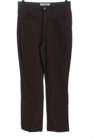 Closed Pantalone a vita alta marrone stile casual