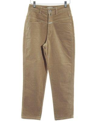 Closed Pantalon taille haute beige style décontracté