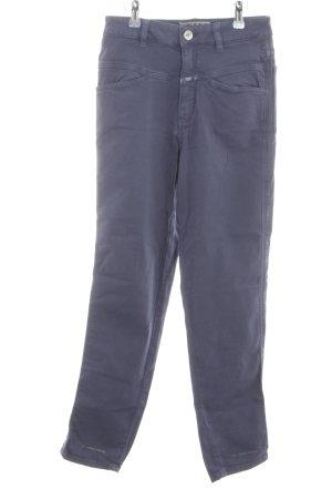 Closed Hoge taille broek blauw casual uitstraling