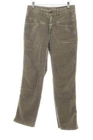 Closed Hoge taille broek grijs-bruin simpele stijl