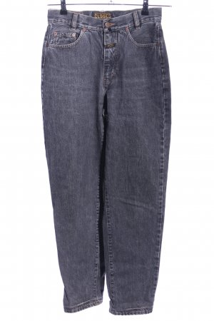 Closed Hoge taille jeans lichtgrijs casual uitstraling