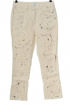 Closed High Waist Jeans abstraktes Muster Casual-Look