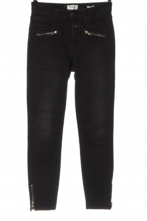 Closed High Waist Jeans schwarz Casual-Look
