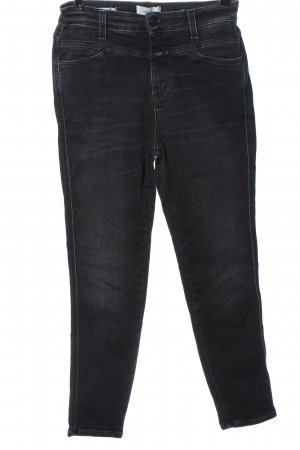 Closed Jeans a vita alta grigio chiaro stile casual