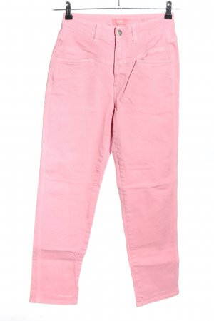 Closed Vaquero de talle alto rosa look casual